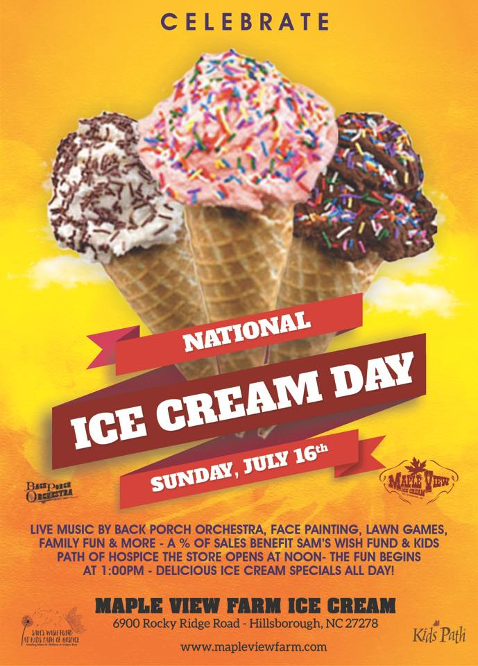 national ice cream day 2017 flyer