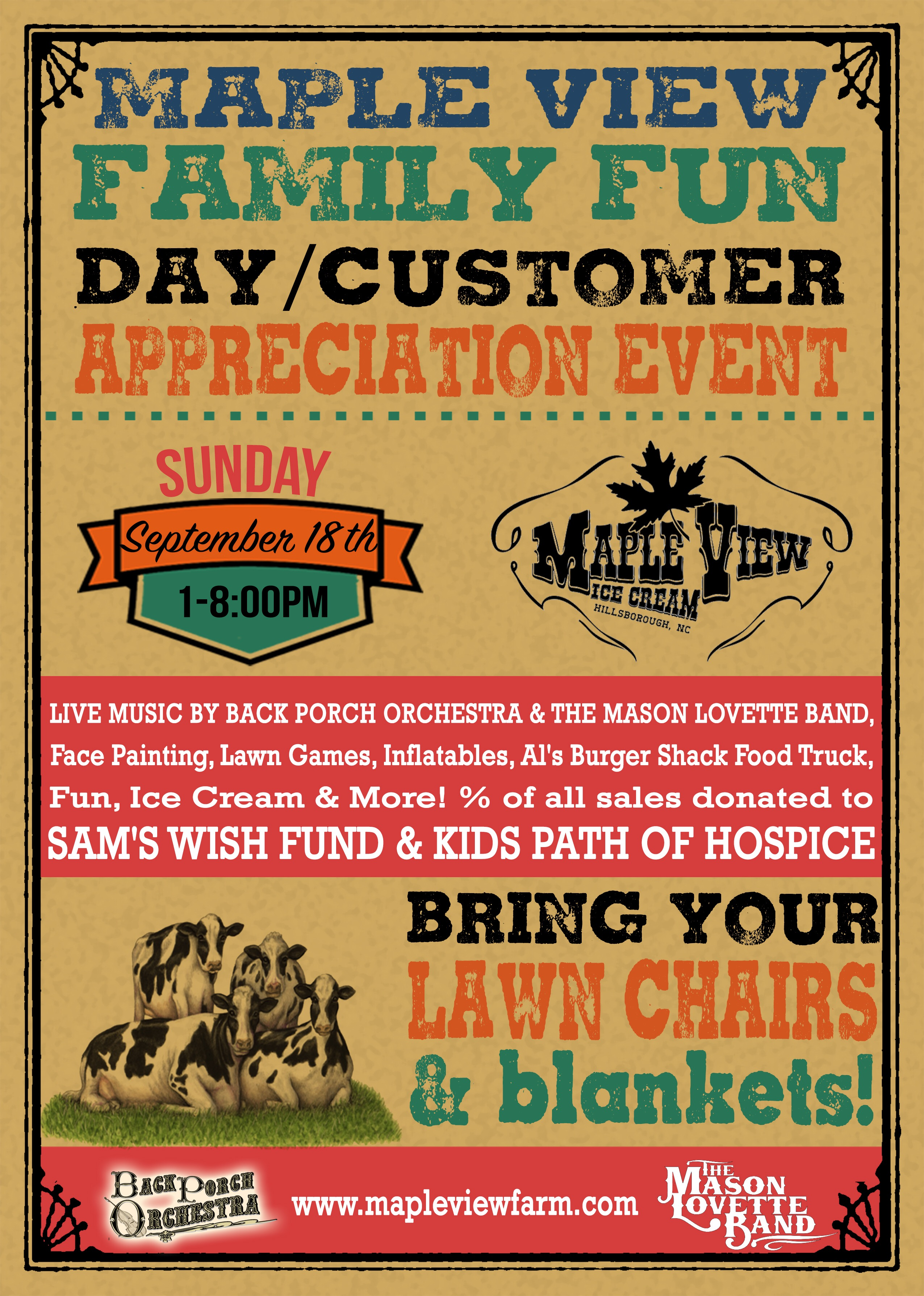 Maple View Customer Appreciation Day – Sunday, September 18th ...
